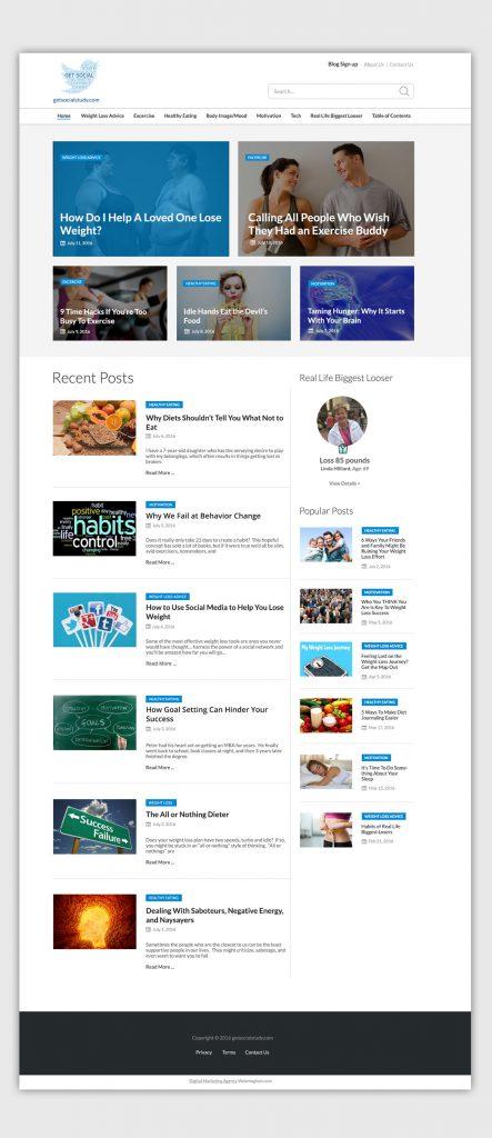 fitness-blog-website-design-development-usa-Home-Page