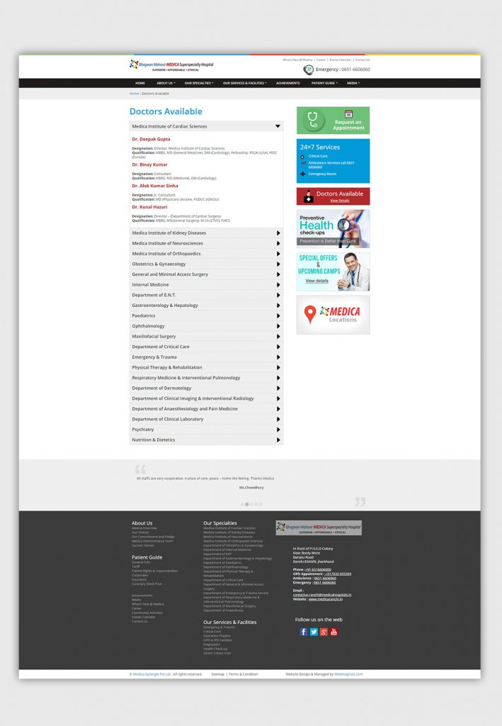 Responsive-Website-design-Development-hospital-doctor-on-call