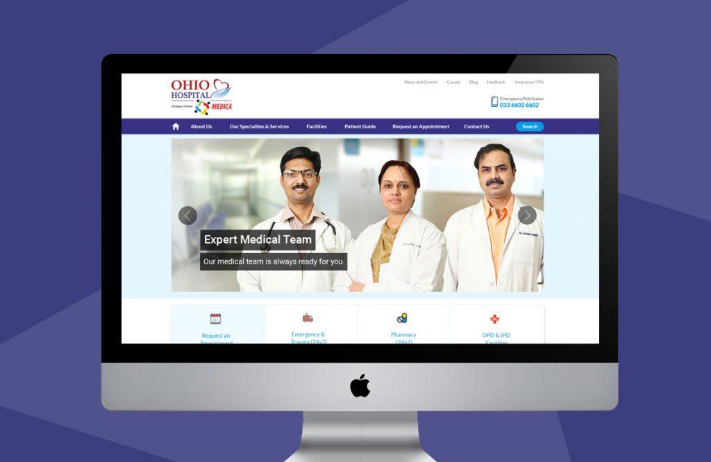 hosptal-website-design-top-screen