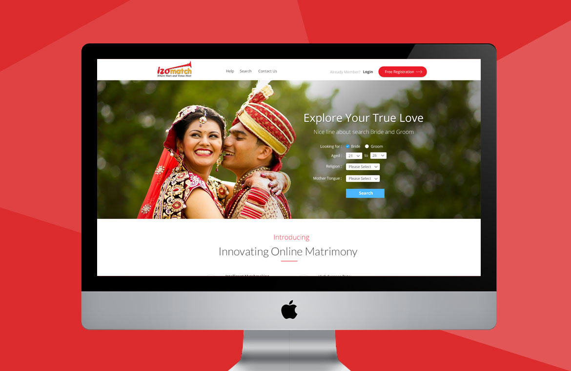 match-making-website-design-header
