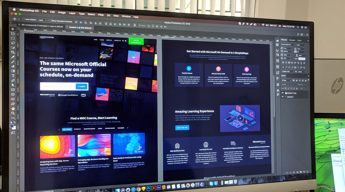 Photoshop As The Website Designing Tool