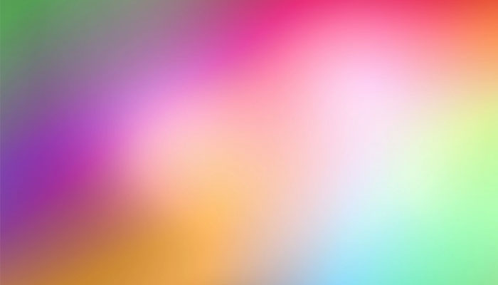 UX UI Blurred colorful background