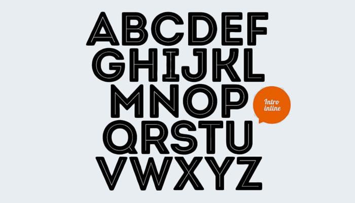 UX UI Complex typography