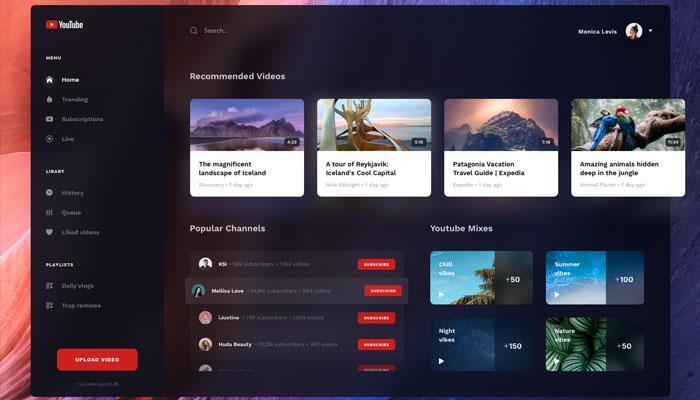 UX UI Design Dark Mode
