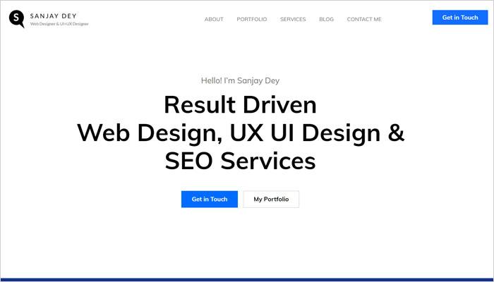 UX UI Minimalism Design