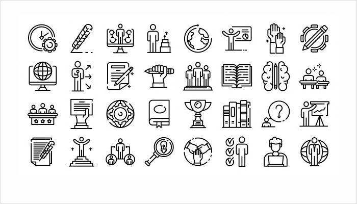 ux ui design icons