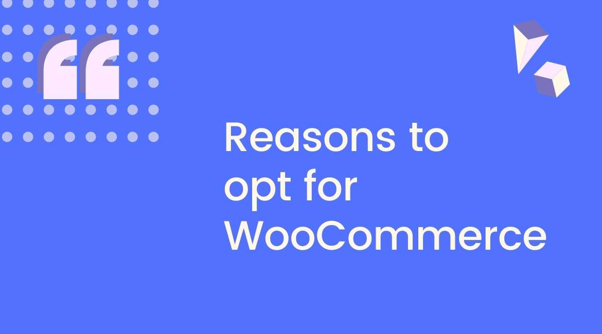 Reasons to opt for WooCommerce
